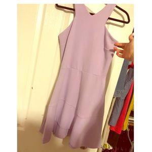 Lavender lilac summer dress